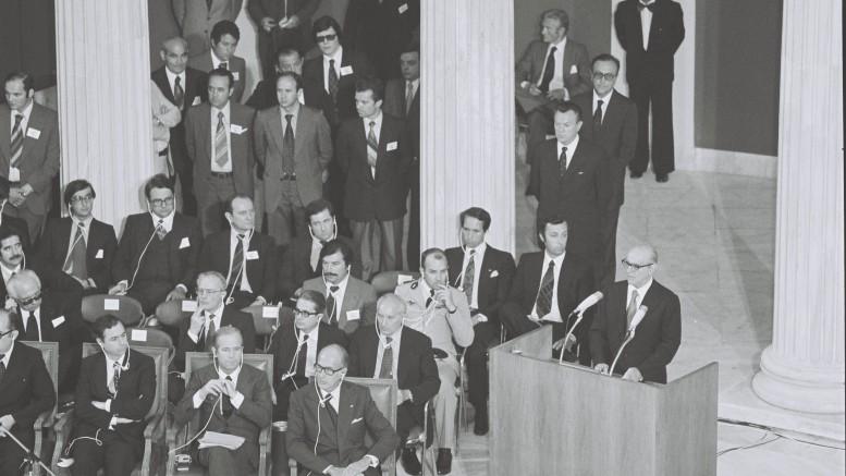 Εδώ ξεκίνησαν όλα πριν από 35 χρόνια.  Ποιά θα είναι η συνέχεια; (Φωτο: ΑΠΕ)
