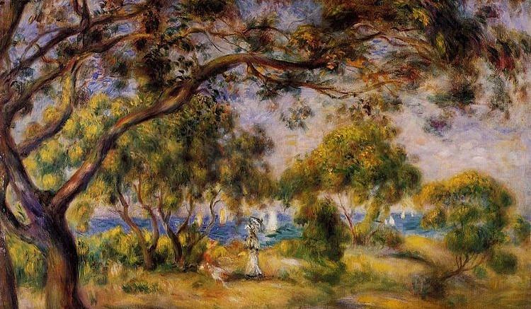 Φωτό: Pierre Auguste Renoir Noirmoutier