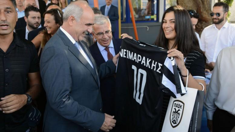 Ο Βαγγέλης Μεϊμαράκης έχει προβάδισμα σε όλες τις κατηγορίες.