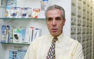 Ο πρόεδρος του Πανελληνίου Φαρμακευτικού Συλλόγου Κων. Λουράντος