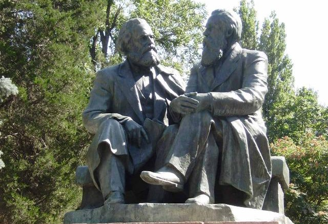 Karl-Marx-and-Friedrich-Engels-Monuments