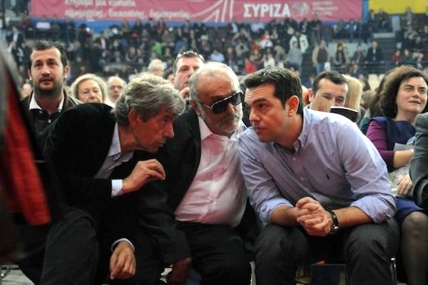 O Αλέξης Τσίπρας  μιλά με τον Αντώνη Κοτσακά  και τον Παναγιώτη Κουρουπλή  κατά τη διάρκεια της Πανελλαδικής Συνδιάσκεψης του ΣΥΡΙΖΑ-ΕΚΜ στο Στάδιο Ειρήνης και Φιλίας, το 2012.  (ΦΩΤΟ: ΑΠΕ-ΜΠΕ/ΕΥΗ ΦΥΛΑKΤΟΥ)