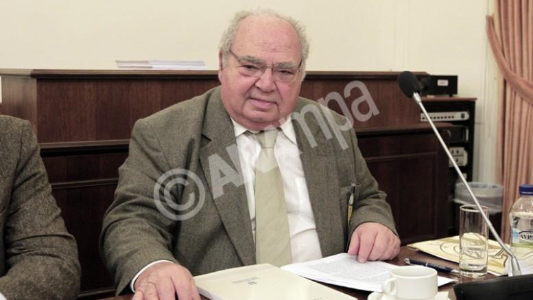 Ο Γενικός Επιθεωρητής Δημόσιας Διοίκησης Λέανδρος Ρακιντζής ΦΩΤΟ: ΑΠΕ-ΜΠΕ/ΑΛΚΗΣ ΚΩΝΣΤΑΝΤΙΝΙΔΗΣ