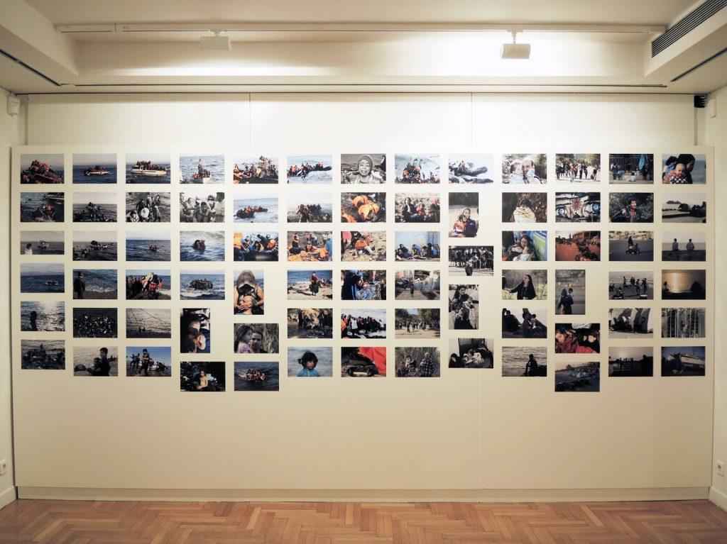 Weiwei Cycladic museum refugee