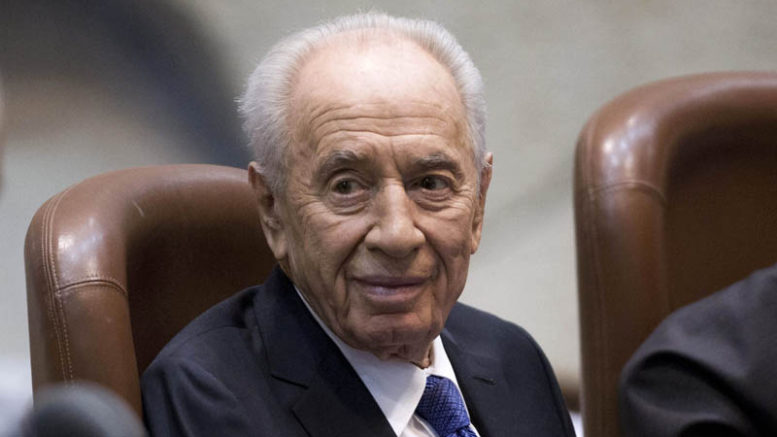 Shimon Peres in hospital after stroke